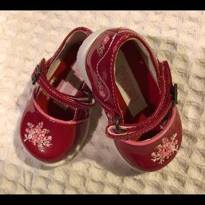 Gymboree Red Faux Patent Leather Mary Jane Sz. 1